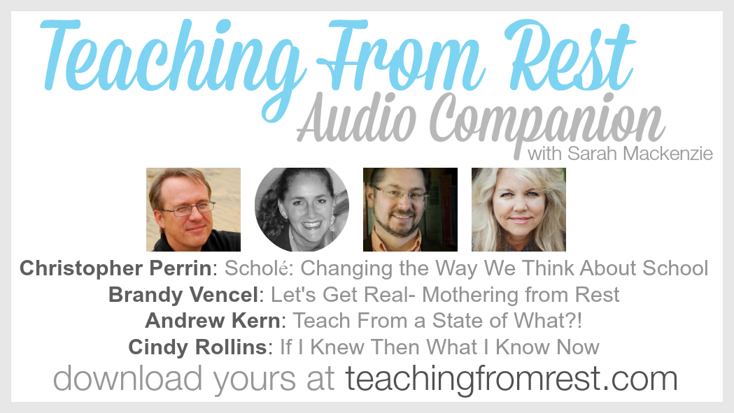 Teaching From Rest Audio Companion (available May 26th at teachingfromrest.com)