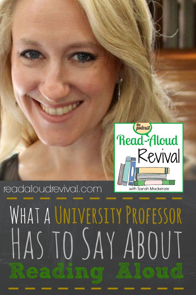 Dr. Catherine Pakaluk has a thing or two to say about how reading aloud impacts students well after graduation. This episode of the Read-Aloud Revival podcast will motivate and excite you!